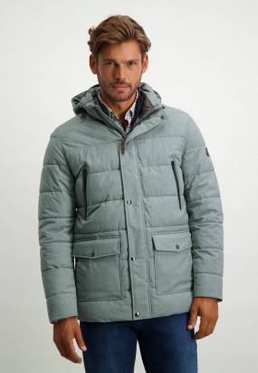 Manteau-uni---gris-moyen-uni