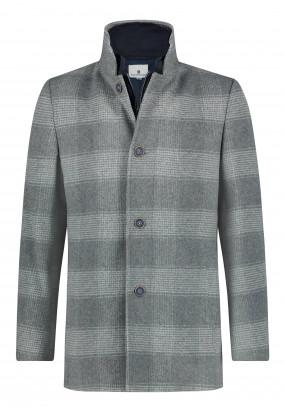 Manteau-à-carreaux---gris-argenté-monochrome
