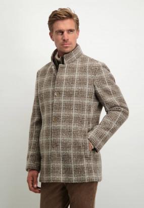 Manteau-à-carreaux---sépia/grège