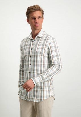 Modern-Classics-overhemd-met-cut-away-kraag---zilvergrijs/cognac