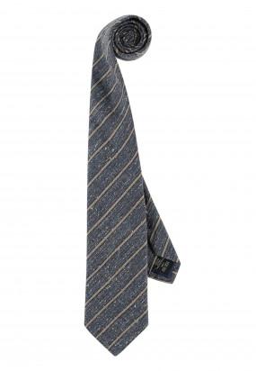 Modern-Classics-gestreepte-stropdas---donkerblauw/kit