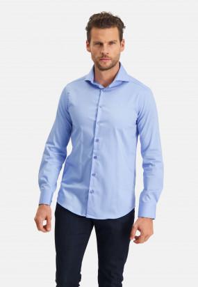 Modern-Classics-chemise-Easy-Care---bleu-uni