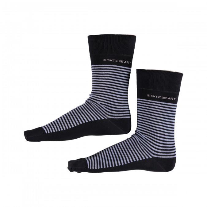 Gestreepte-sokken