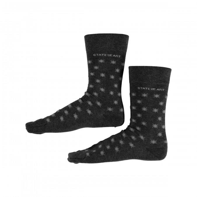 Bedrukte-sokken