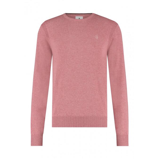 R-hals-trui-van-biologisch-katoen---oud-roze-uni