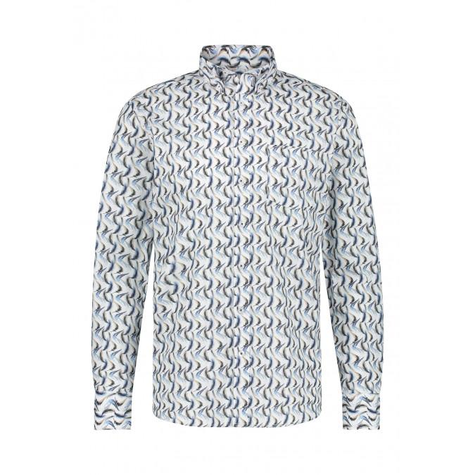 Button-down-overhemd-met-regular-fit---donkerblauw/kit