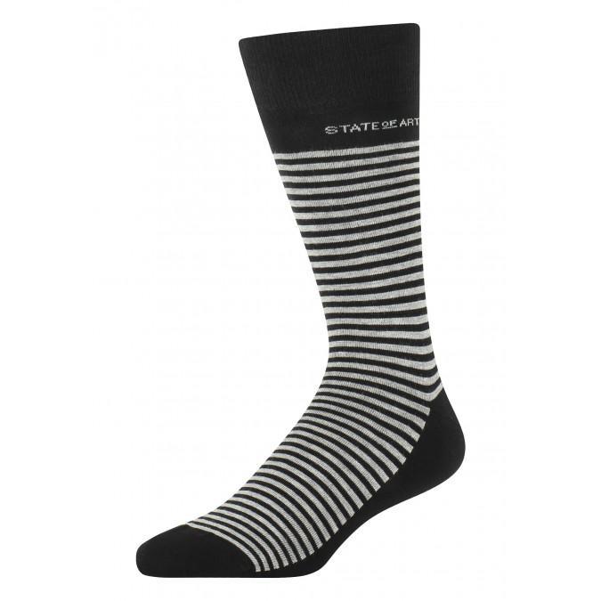 Gestreepte-sokken-van-een-katoenmix