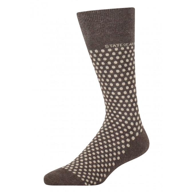 Jacquard-sokken-met-een-stippenpatroon