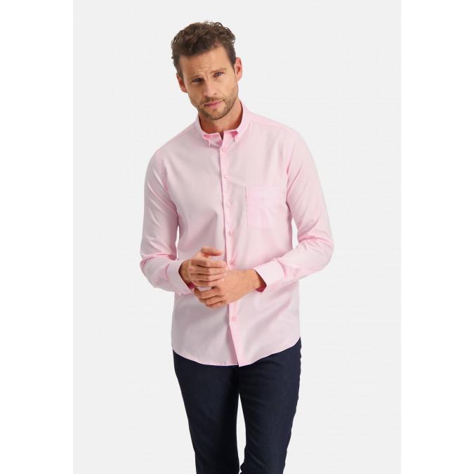 Modern-Classics-overhemd-Easy-Care---roze-uni
